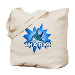 Sharks Team Tote Bag