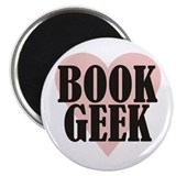 Book Geek Magnet