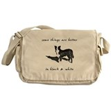 Border Collie Better Messenger Bag
