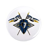"Medieval Shield Graphic 3.5"" Button (100 Pk)"
