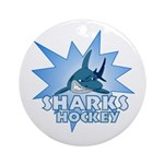 Sharks Team Ornament (Round)