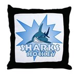 Sharks Team Throw Pillow