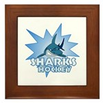 Sharks Team Framed Tile