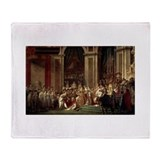 Coronation of Napoleon Throw Blanket