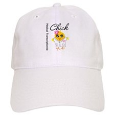 Medical Transcriptionist Chick Baseball Cap