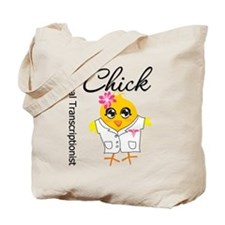 Medical Transcriptionist Chick Tote Bag