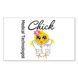 Medical Technologist Chick Decal