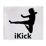 iKick Throw Blanket