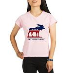 Bull Moose Performance Dry V-Neck