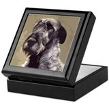 Irish Wolfhound Jewelry Box