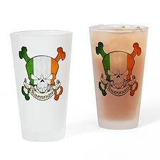 Brennan Skull Drinking Glass