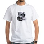Heavy Metal 2 White T-Shirt