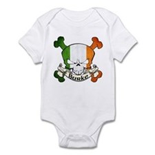 Burke Skull Infant Bodysuit