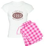 1912 Vintage (Red) Women's Light Pajamas