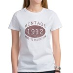1912 Vintage (Red) Women's T-Shirt