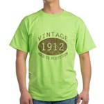 1912 Vintage (Red) Green T-Shirt