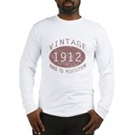 1912 Vintage (Red) Long Sleeve T-Shirt