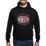 1912 Vintage (Red) Hoodie (dark)