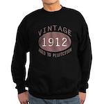 1912 Vintage (Red) Sweatshirt (dark)