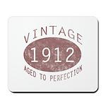 1912 Vintage (Red) Mousepad