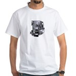 Heavy Metal 3 White T-Shirt