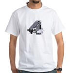 Heavy Metal 4 White T-Shirt