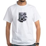 Heavy Metal 5 White T-Shirt