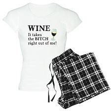 No Bitch Just Wine Pajamas
