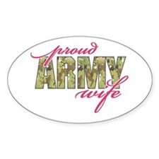 Cute Soldiers wife Decal