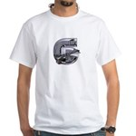Heavy Metal 6 White T-Shirt