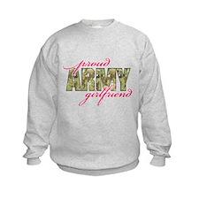 Cute Army girlfriends Sweatshirt