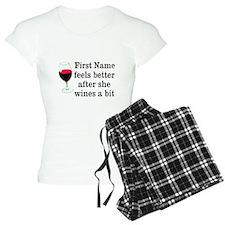 Personalized Wine Gift pajamas