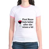 Personalized Wine Gift T