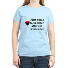 Personalized Wine Gift T-Shirt