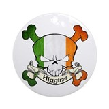 Higgins Skull Ornament (Round)