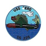 USS Cero SS 225 Ornament (Round)