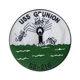 USS Grunion SS 216 Ornament (Round)