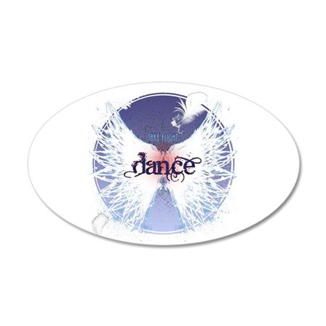 Take Flight Dance by DanceShirts.com 22x14 Oval Wa