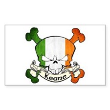 Keane Skull Decal