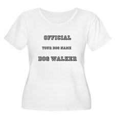 Personalized Dog Walker T-Shirt