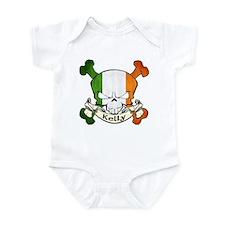 Kelly Skull Infant Bodysuit