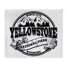 Yellowstone Old Circle Throw Blanket