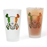Kenny Skull Pint Glass
