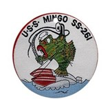 USS Mingo SS 261 Ornament (Round)