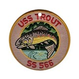 USS Trout SS 566 Ornament (Round)