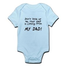 Baby Blame Dad Infant Bodysuit