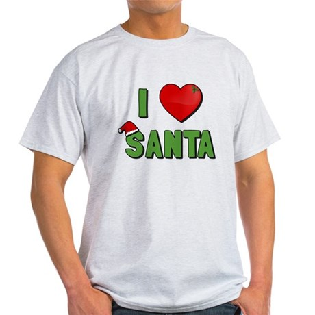 I Love Santa Light T-Shirt