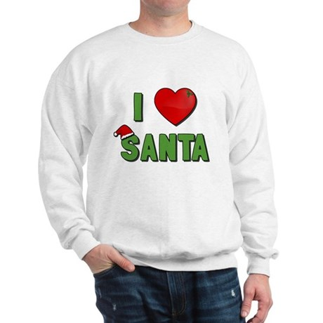 I Love Santa Sweatshirt