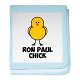 Ron Paul Chick baby blanket