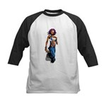 Paint gurl Kids Baseball Jersey